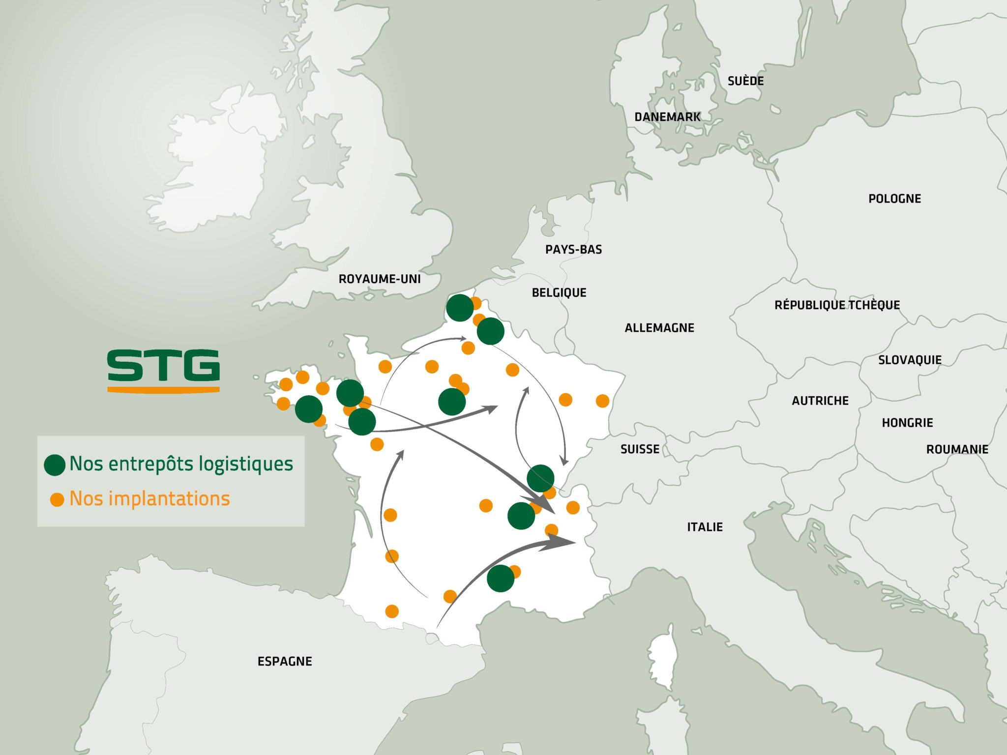 Supply chain tri-température : optez pour la solution STG - STG